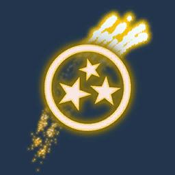 Recipe: Fireworks Emitter (Gold Curved Streamer)