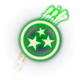 Recipe: Fireworks Emitter (Green Curved Streamer)