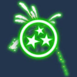 Recipe: Fireworks Emitter (Green)