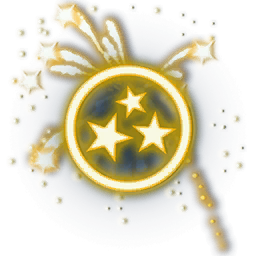 Recipe: Fireworks Emitter (Gold and White)