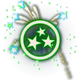 Recipe: Fireworks Emitter (Green and Blue)