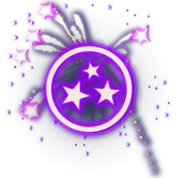 Recipe: Fireworks Emitter (Purple and Pink)