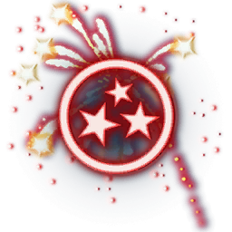 Recipe: Fireworks Emitter (Red and Orange)