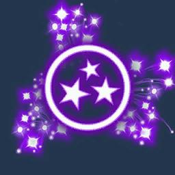 Recipe: Fireworks Emitter (Purple Triple Fan)