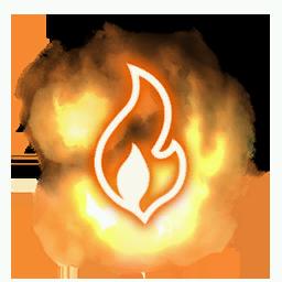 Recipe: Flame Geyser Warning Mote Emitter
