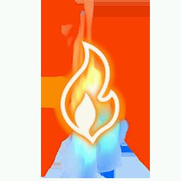 Recipe: Gas Fire Mote Emitter