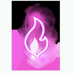 Recipe: Magic Fire (Small Pink) Mote Emitter