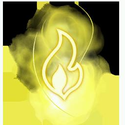 Recipe: Magic Fire (Yellow) Mote Emitter