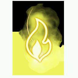 Recipe: Magic Fire (Small Yellow) Mote Emitter
