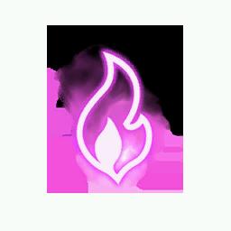 Recipe: Torch Fire (Pink) Mote Emitter