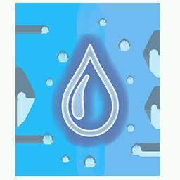 Recipe: Jungle Water Drops Mote Emitter