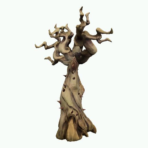Recipe: Desert Tree (Dead Medium with Flies)