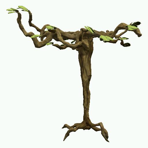 Recipe: Desert Paddle Tree (Medium)
