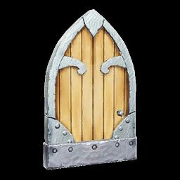 Recipe: Arched Highfall Door (Left)