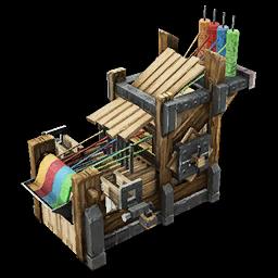 Recipe: Wooden Loom (Medium)