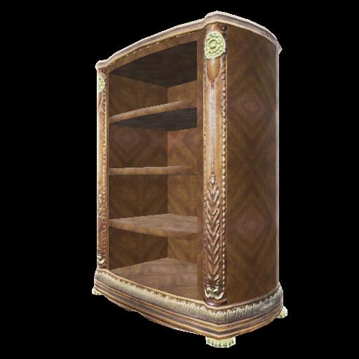Recipe: Burled Wood Tall Bookcase