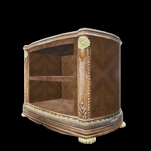 Recipe: Burled Wood Short Bookcase