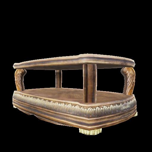 Recipe: Burled Wood Coffee Table