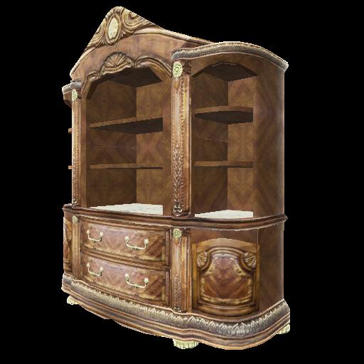 Recipe: Burled Wood Dining Cabinet