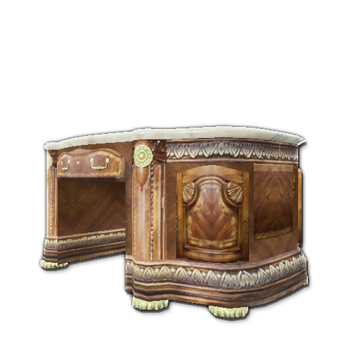 Recipe: Burled Wood Office Desk