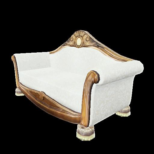 Recipe: Burled Wood Sofa
