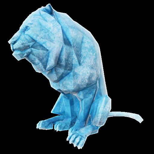Recipe: Lion Ice Sculpture