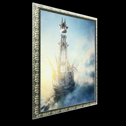 Recipe: Painting: Shrine of the Sky