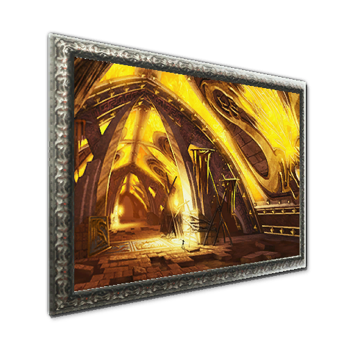 Recipe: Painting: Fiery Temple