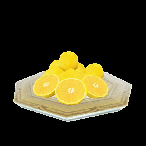 Recipe: Plate of Oranges