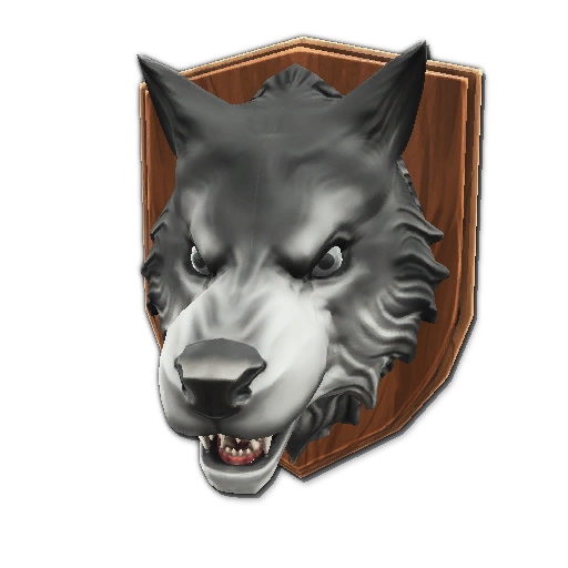 Recipe: Fjorden Mounted Wolf's Head