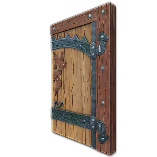 Recipe Heavy Fjorden Door (Left)  sc 1 st  CraftNorrath Landmark & CraftNorrath: Landmark » Doors