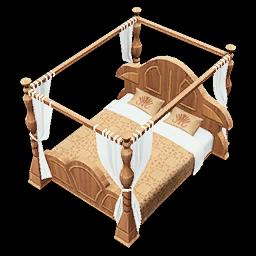 Recipe: Regal Master Bed