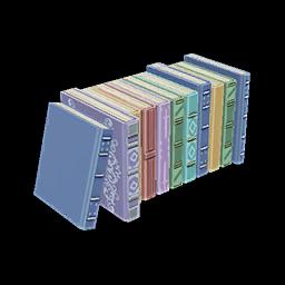 Recipe: Row of Thin Books
