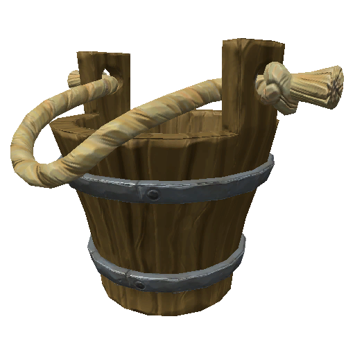 Recipe: Bucket (Small Wooden)