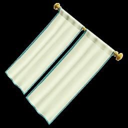 Recipe: Long Hanging Curtains