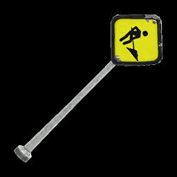 Recipe: Construction Sign