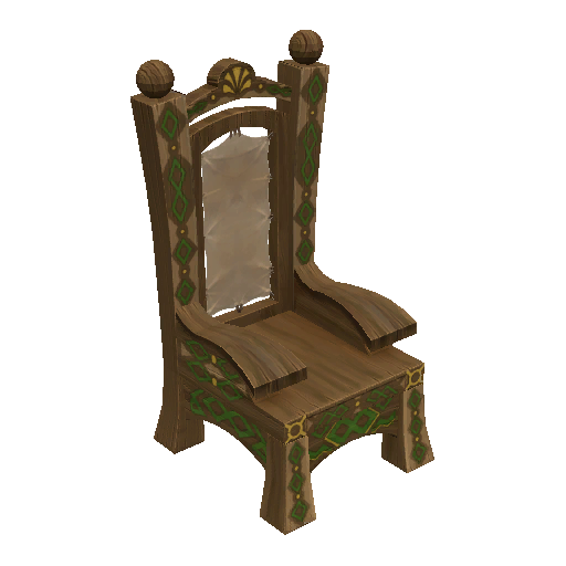 Recipe: Painted Wooden Chair