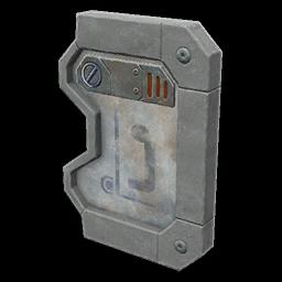 Recipe: Utility Door (Interlocking Right)