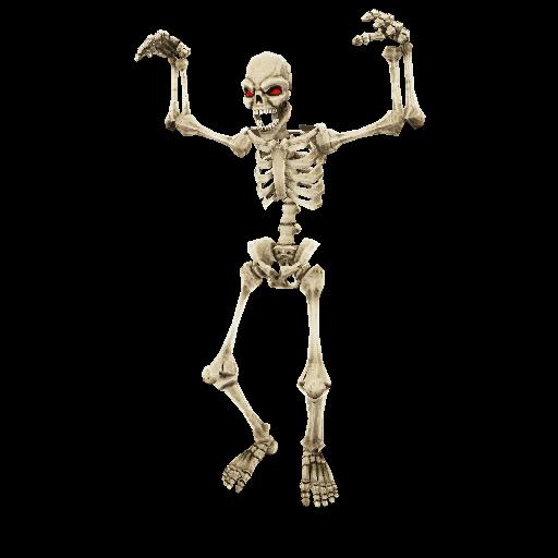 Recipe: Jump Scare Skeleton