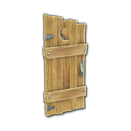 Recipe: Outhouse Door