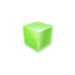 Recipe: Green Emissive Cube