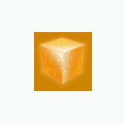 Recipe: Orange Emissive Cube