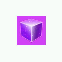 Recipe: Violet Emissive Cube