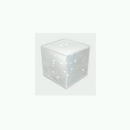 Recipe: White Emissive Cube