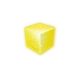 Recipe: Yellow Emissive Cube