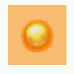 Recipe: Orange Emissive Orb