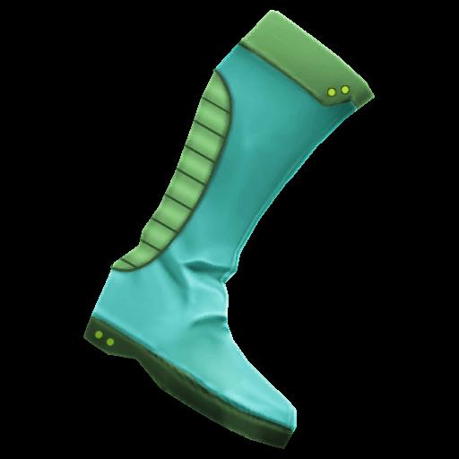 Recipe: Neon Blitzing Boots