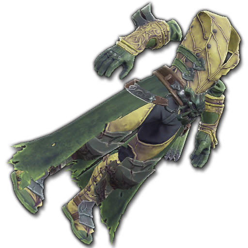 Recipe: Assassin's Stealth Leathers (Green)