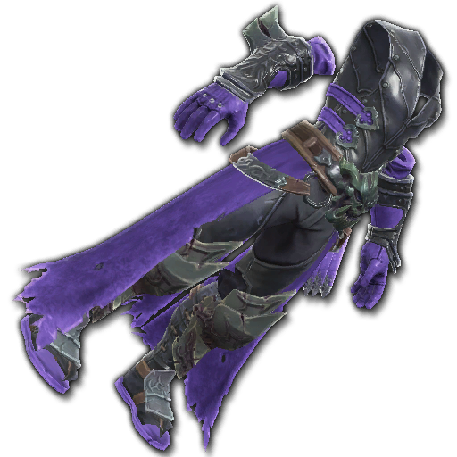 Recipe: Assassin's Stealth Leathers (Purple & Black)