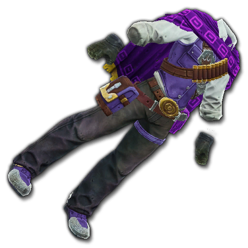 Recipe: Desperado's Outfit (Purple)